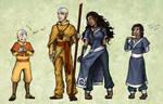 Avatar: Older Kataang Concepts