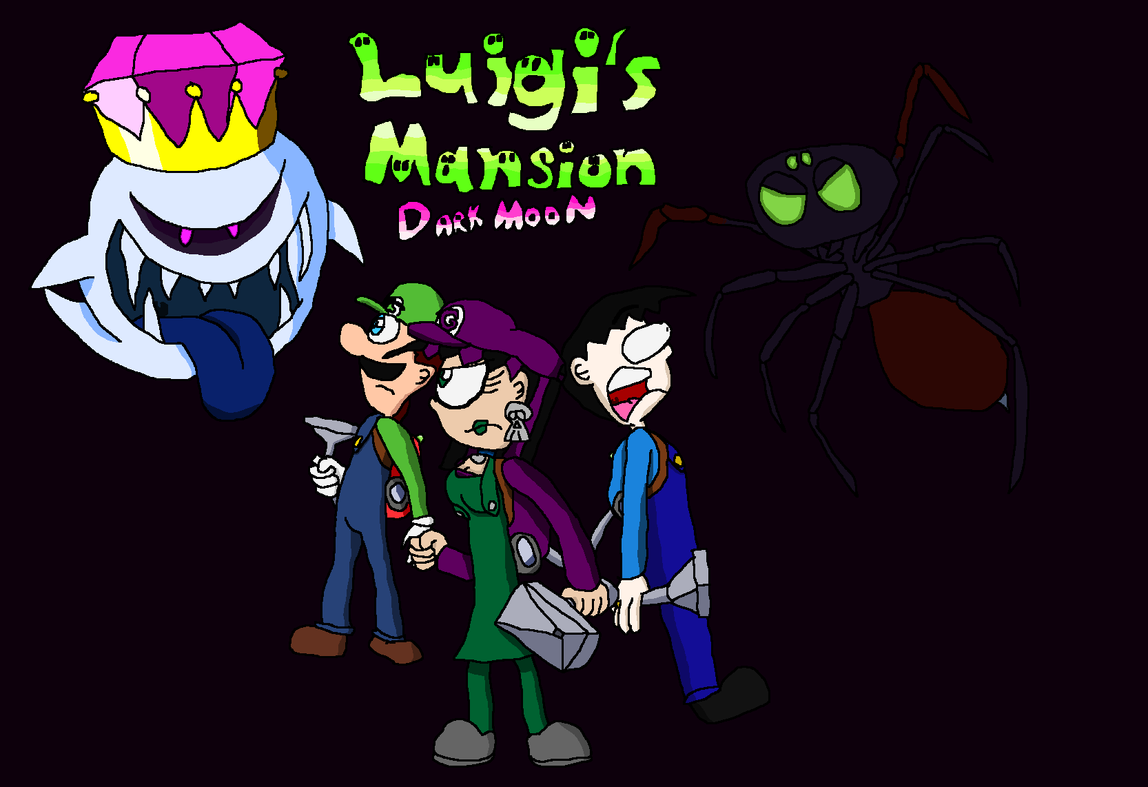 Luigi Mansion Wallpaper 19668