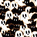 F2U - Halloween - Bats and Ghosts Tile