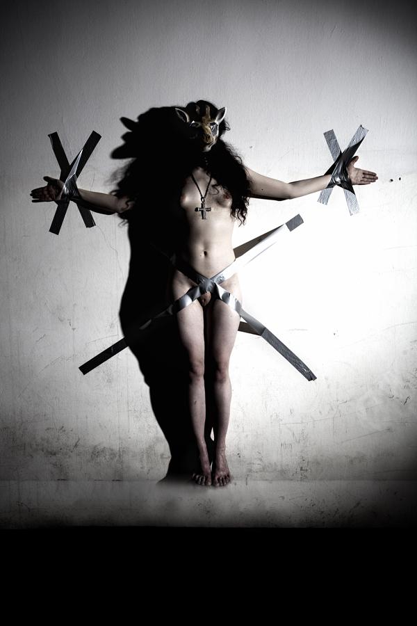 A postmodern crucifix by DeeSolutio