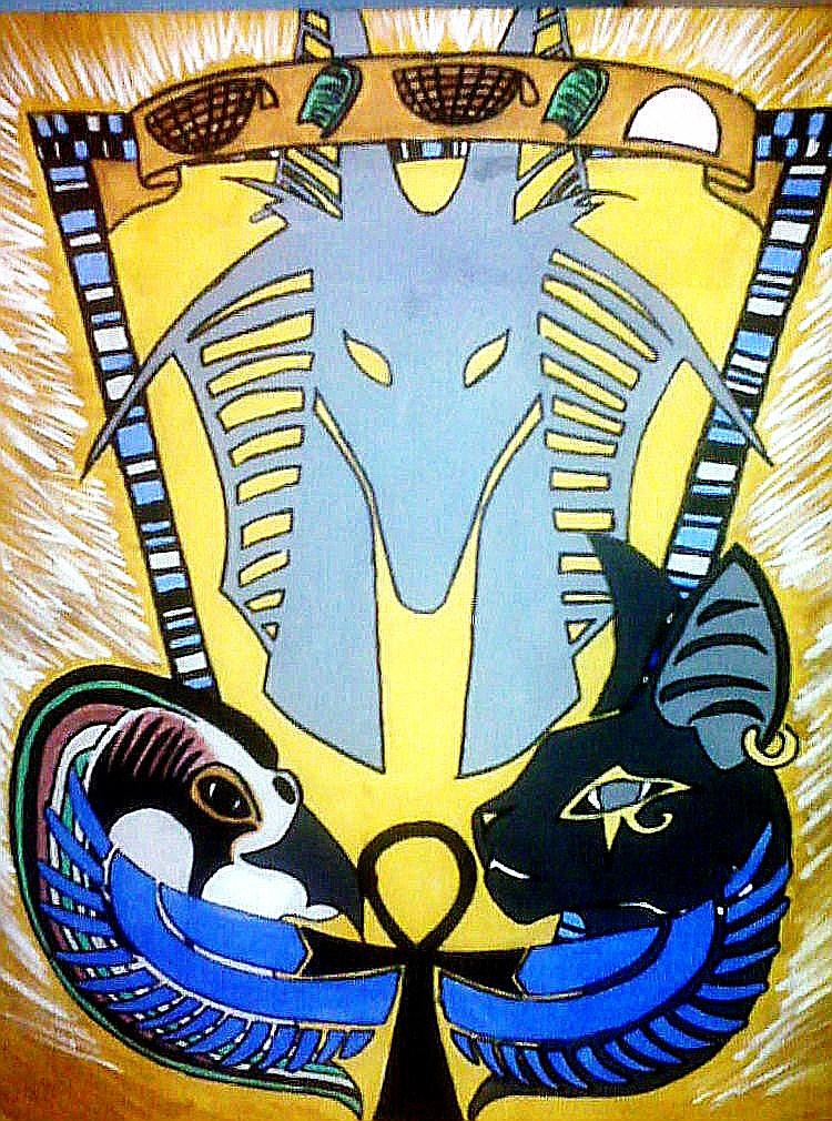 Egyptian Deities by GallaghersAngel