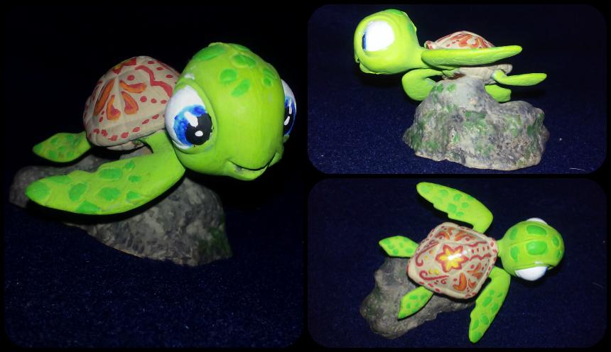 Turtle - Squirt Repaint by GallaghersAngel