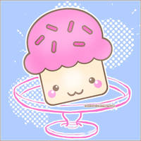Kawaii Cupcake. by Tohx