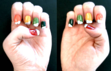 'Dyna Blade' Manicure by queenpili