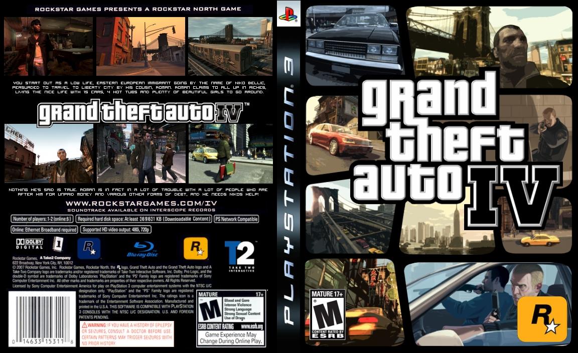 GTA:IV Cover 2 by ja750 on DeviantArt