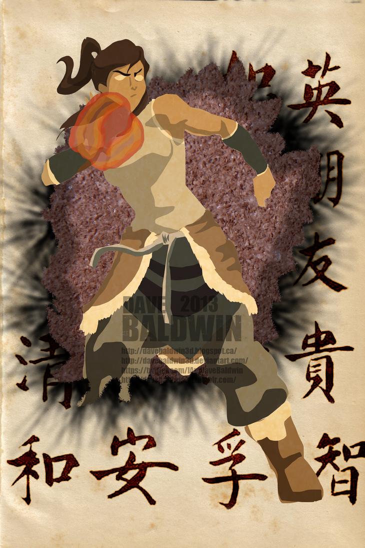 The Legend of Korra Revisited by DaveBaldwin3D