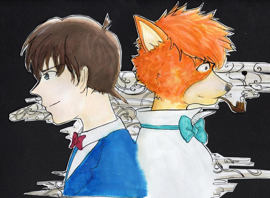 Two Sherlock Holmes by Mey51