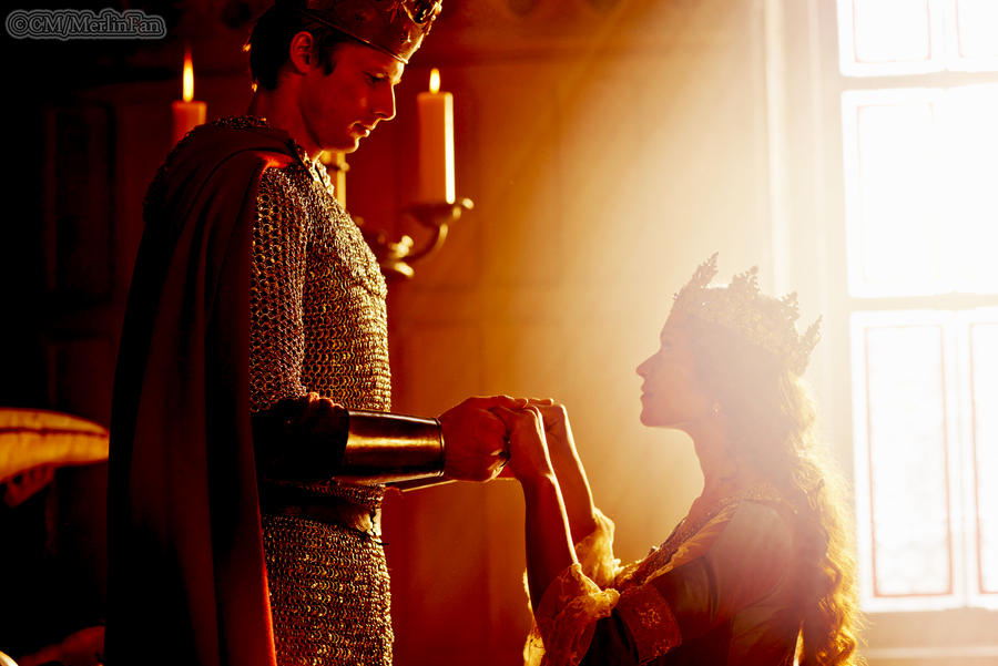 King Arthur and Queen Guinevere by MagicalPictureMaker
