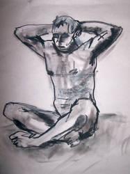 Life drawing session dec -09