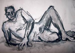 Life drawing session dec -09 D