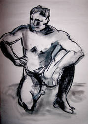 Life drawing session dec -09 H