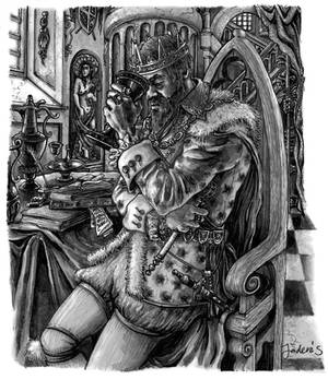 Sebastian Illustration King 2020