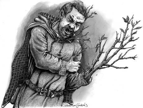 Sebastian Illustration Torn To Tree 2020
