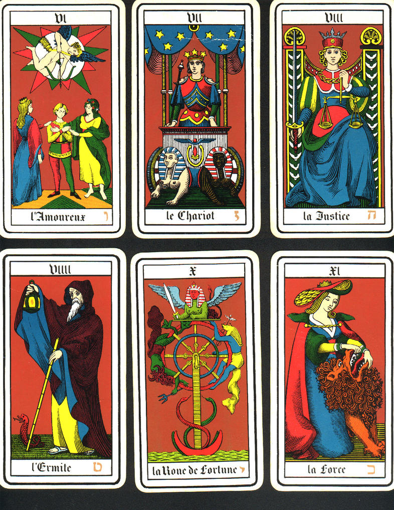 French Tarot Cards 6-11 By Nag-stock On DeviantArt