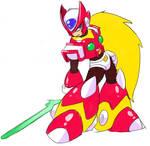 Mega Man X3 Zero.