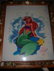 Kellie's Ariel Gift. by Egoraptor