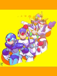The X Armors. by Egoraptor