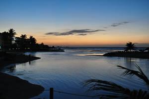 Sunset in Jamaica by JessicaTanton
