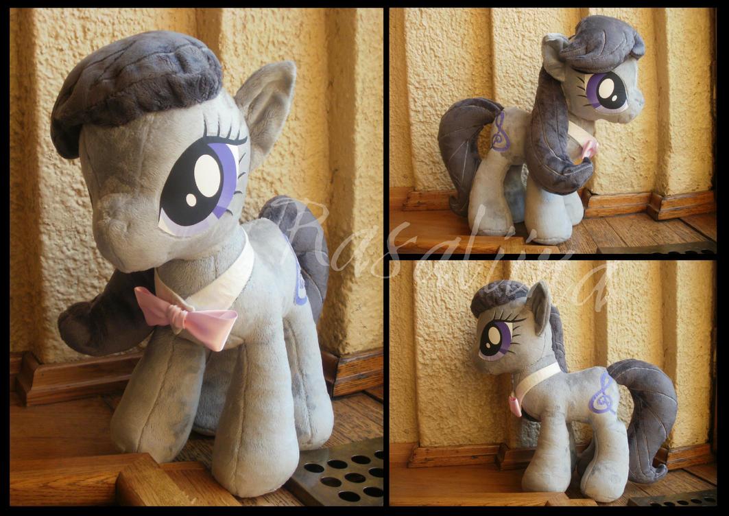 MLP: FiM Octavia plushie by Rasaliina