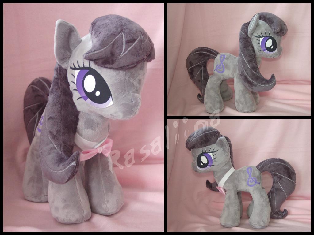 MLP FiM: Octavia plushie by Rasaliina