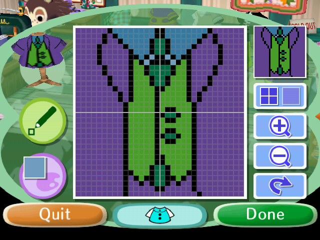 Animal Crossing City Folk Pattern Designs