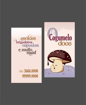 The Sweet Mushroom - Business Card