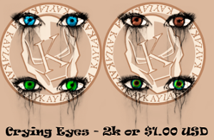 Crying Eyes by Iaps