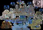 Castlevania AoS full map