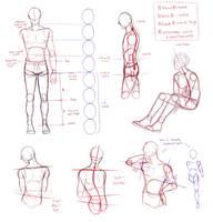 dude anatomy by AngelKite