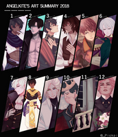 2018 Art Summary by AngelKite