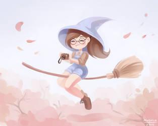 little witch by Avonir