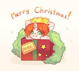 [YCH] Merry Christmas by Avonir