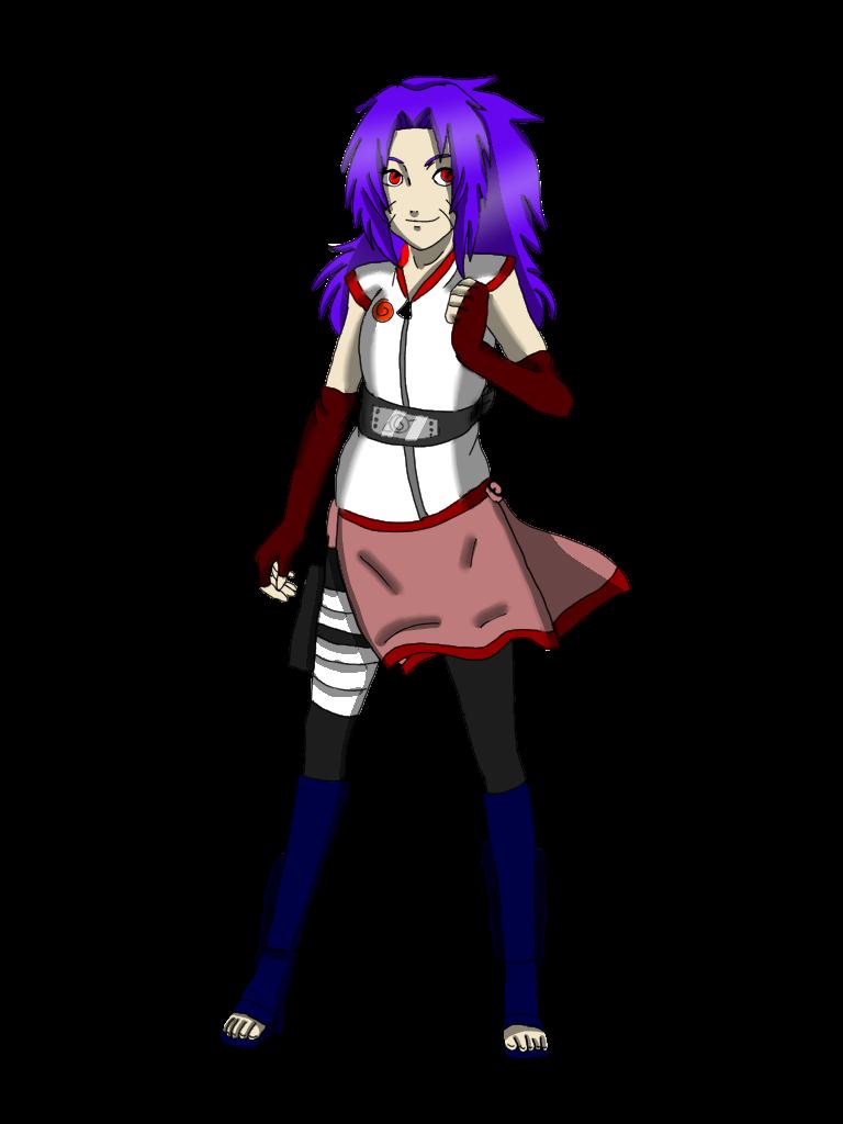 Sonikka Uchiha (full body) by murdermadness556
