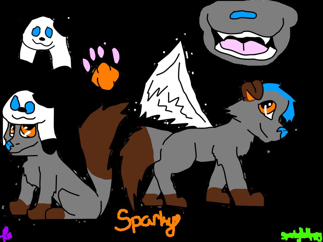 Sparky ref. by scatteredSparks