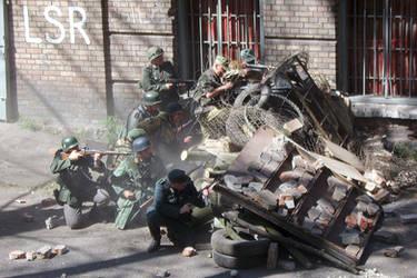 Berlin barricade by Su58