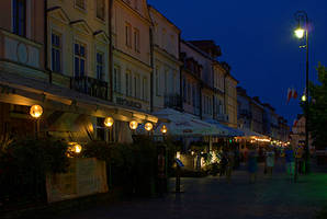 old city at night by Su58