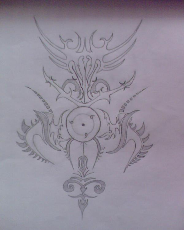 Sharingan Tattoo again by Mourdryu on DeviantArt