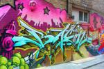 Graffiti on Queen St. W