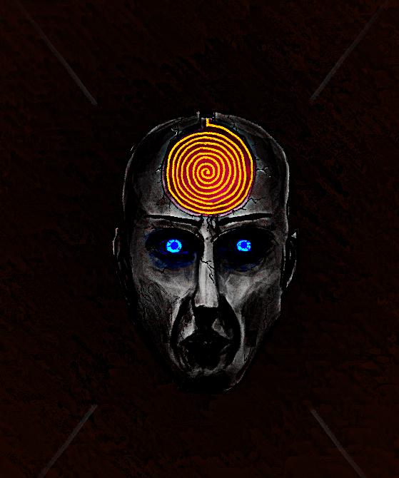 Burning Spiral by v33p
