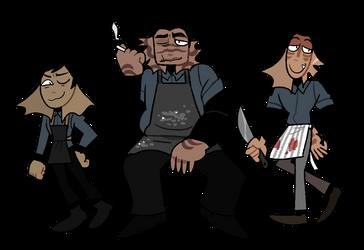 kitchen boys by tontoh