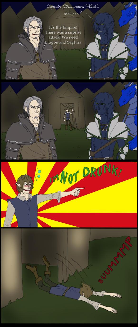 Drunk Eragon by TheGreatestFrog