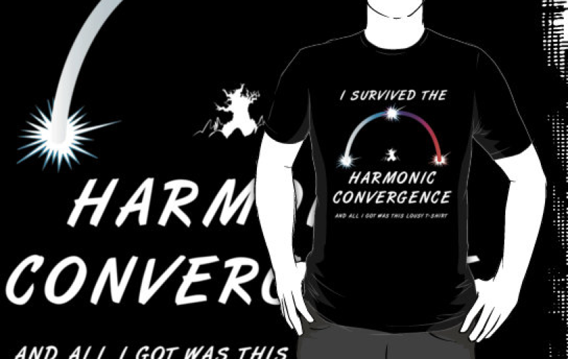 I survived the Harmonic Convergence Shirt by Butterflier00