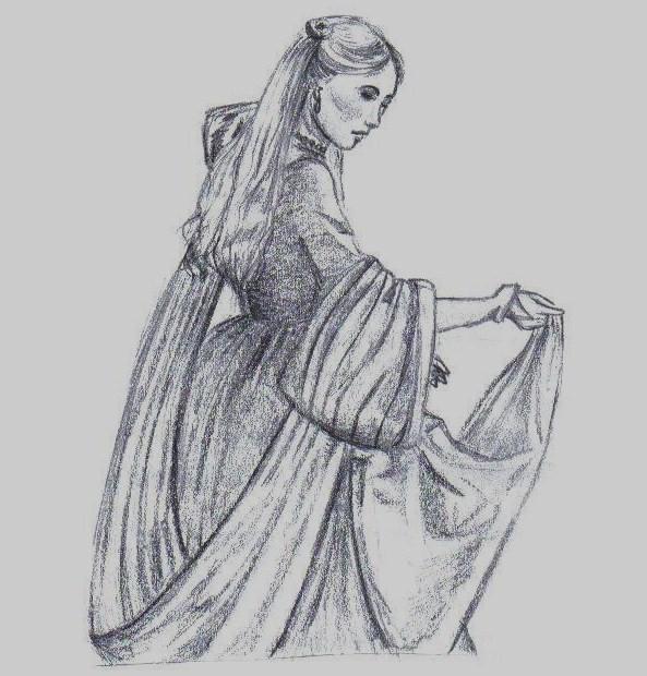 Elizabeth I by Silhouette01