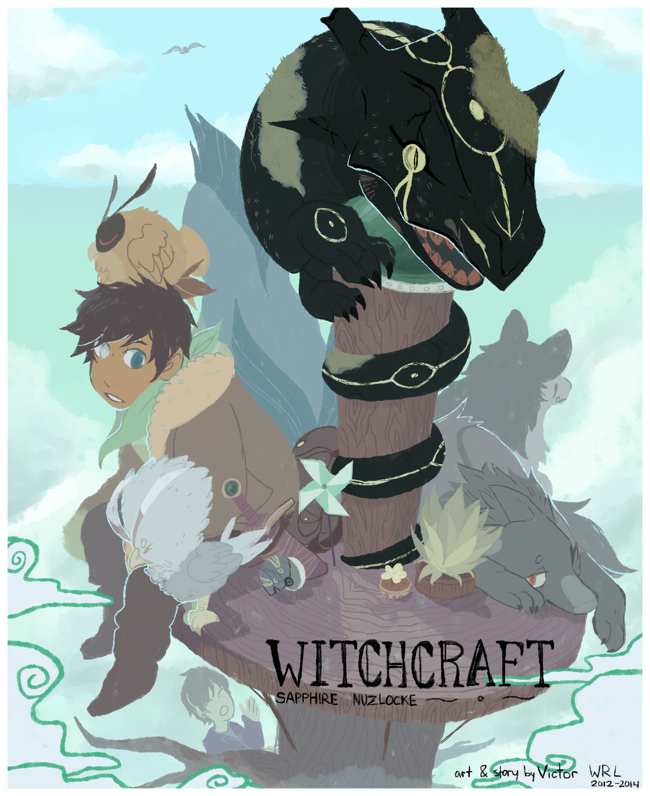 witchcraft: cover 1