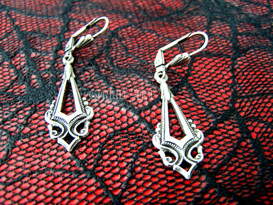 Vuokko Earrings by Girlie-Art