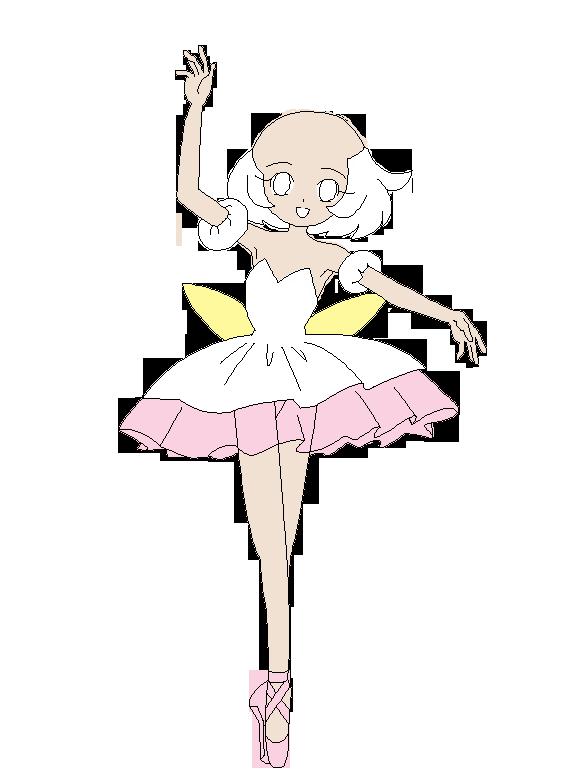 Tutu Outline Princess tutu base 05 by