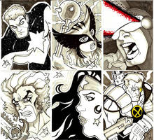 Random Sketch Cards by Jayson-kretzer