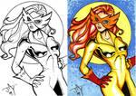 Firestar Sketchcard