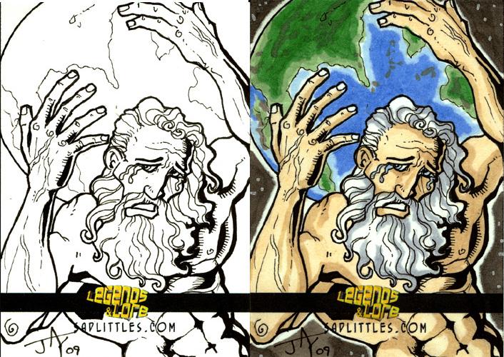 Atlas Sketch Card by Jayson-kretzer