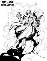 Emo John Constantine by Jayson-kretzer